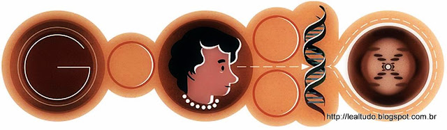 Rosalind Franklin - Google Doodle - 93rd Birthday - DNA Mother