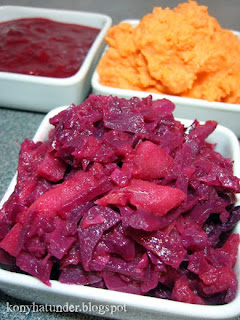 braised-red-cabbage-sweet-potato-puree