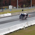 The most amazing moment the drag racing driver saved the car