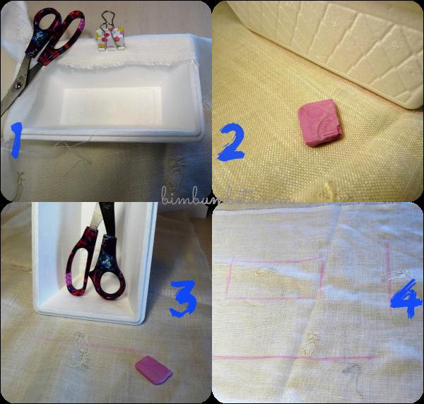 Bim bum beta il cestino per i coni porta riso matrimonio for Foderare una scatola