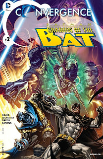 Cover of Convergence: Batman: Shadow of the Bat #2 from DC Comics