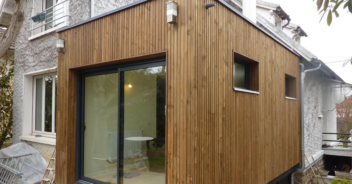 Architecte Maison Bois  Paris  Alsace Extension Bois Dourdan (91) ~ Jardinerie Delbard Bois Paris