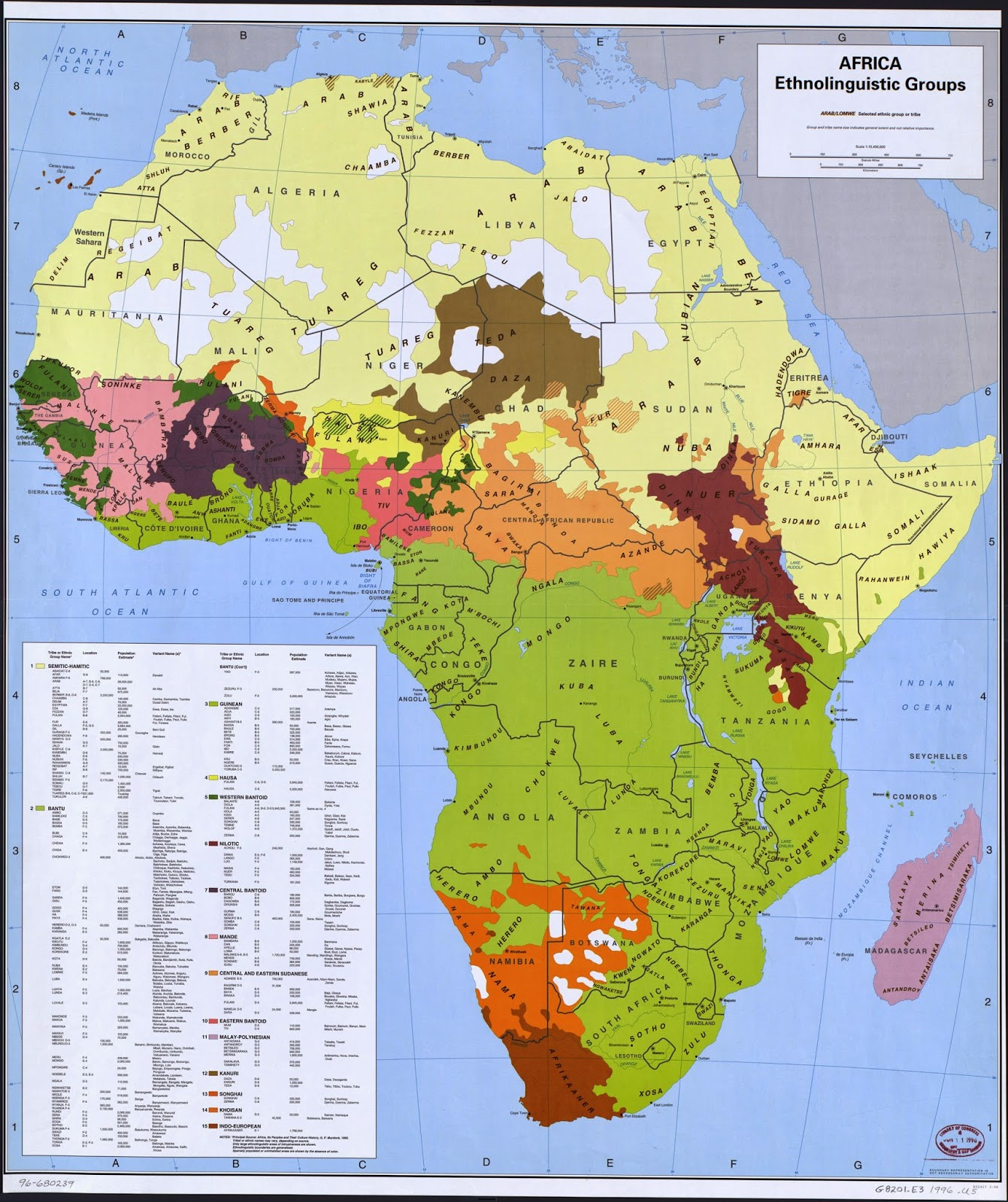 of being redrawn violently or peacefully in the coming century as the continent finally sorts itself out just take one look at an ethnic map of the