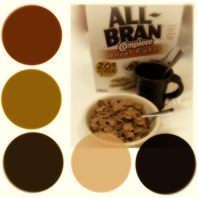 All-Bran Cereal ColorBoard