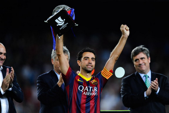 Xavi has played a key role in Barcelona's dominance over recent years