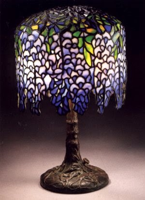 Authentic tiffany lamp expert authentic tiffany lamps big things above is a very desirable and rare tiffany studios miniature wisteria lamp which has only a 10 inch diameter shade some call these pony wisterias mozeypictures Gallery