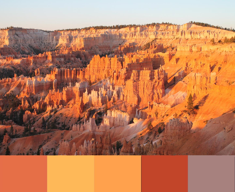 Taken by the hand southwestern color palettes for Southwest desert color palette