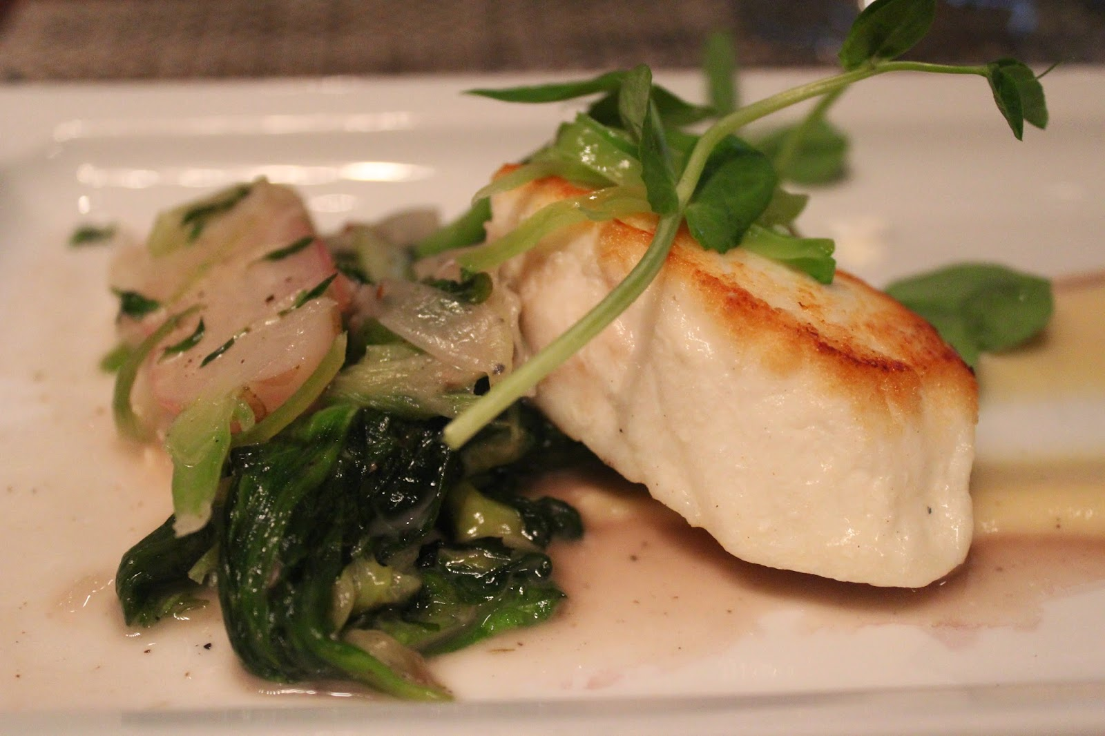 Pacific halibut at Post 390, Boston, Mass.