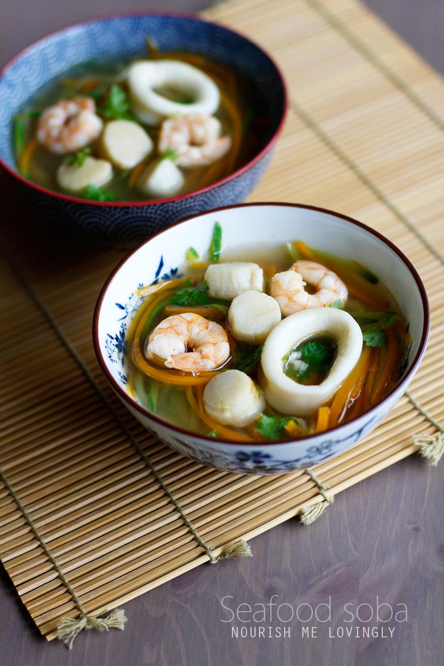 recipe: seafood soba soup [28]