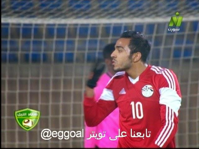 اهداف مباراة مصر الاولمبى  وغانا الاولمبى 3-0  الثلاثاء 13-1-2015