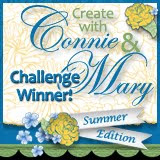I was a top pick at Create with Connie & Mary!