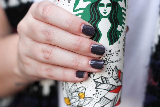 fall nail colors essie opi faves starbucks michael kors marble