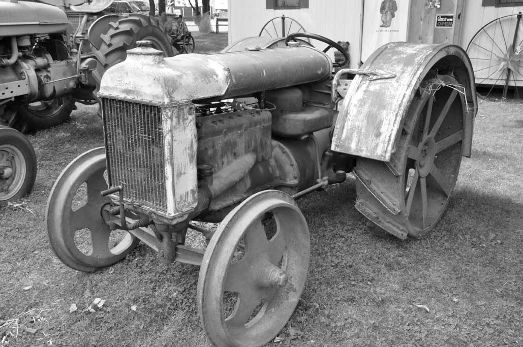 Ford Model F Tractor : Taken for granted fordson tractor