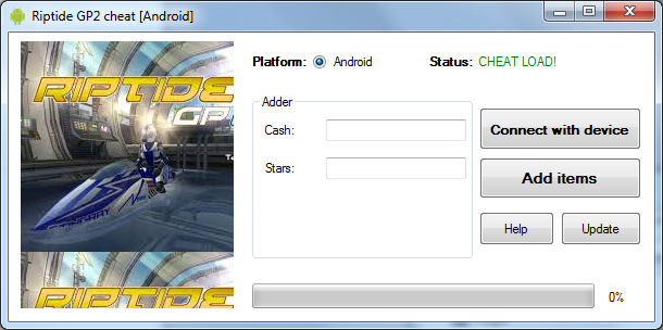 Riptide GP2 Cheats and Hack