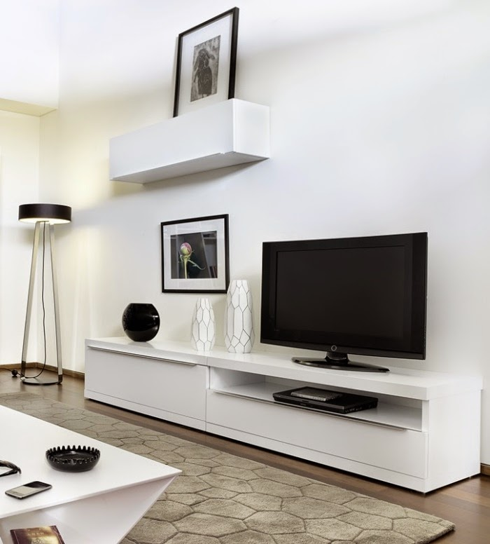 Ideas for wall unit designs with storage for small living for Living room storage units
