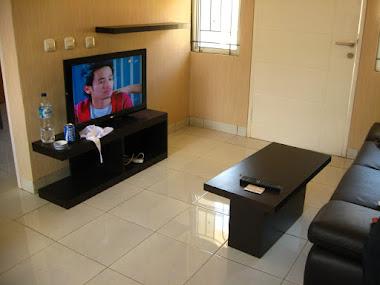 Meja TV+ meja tamu & ambalan