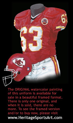 Kansas City Chiefs 2007  uniform