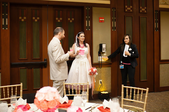Wedding Reception in Trillium Room, Grand Californian Hotel