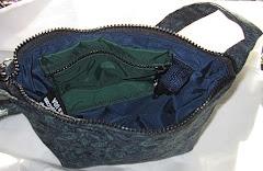 Just the essentials tapestry shoulder bag