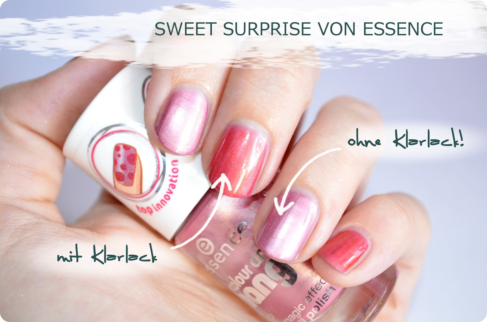 essence Colour & Change Nagellack sweet surprise