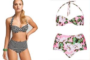 Yüksek Bel Bikini Modelleri: