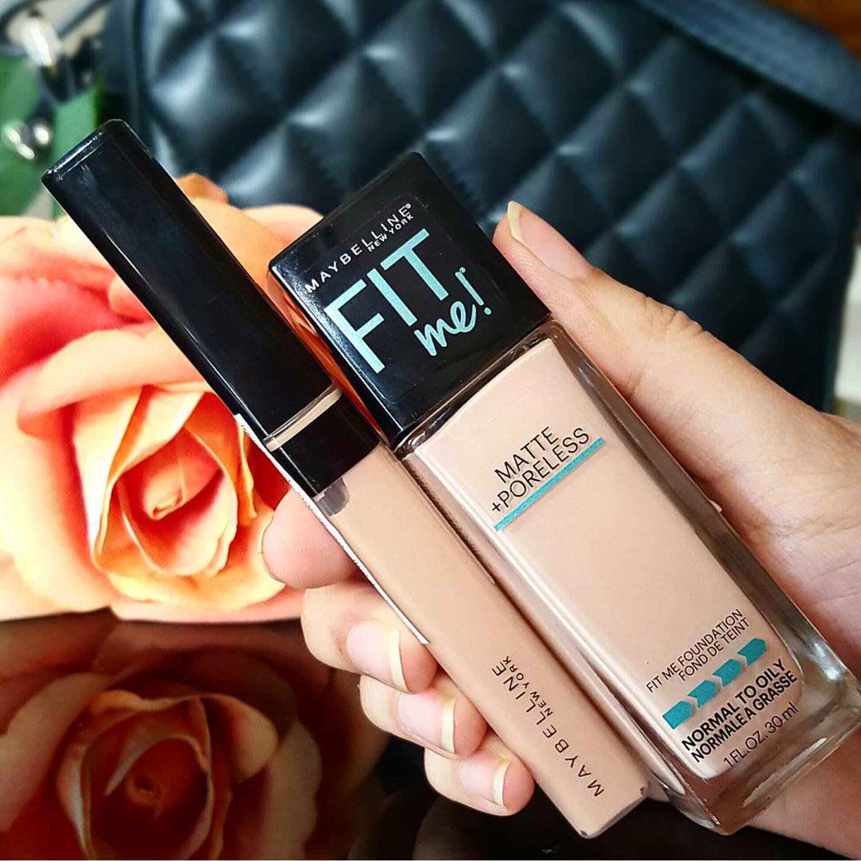Ridzi Makeup Maybelline Fit Me Matte Poreless Foundation Review Clinique Super Powder Double Face Ivory 01