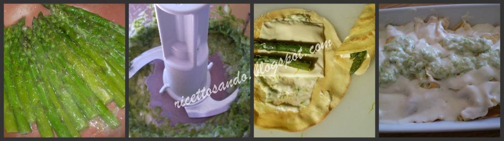 Crespelle vegetariane agli asparagi