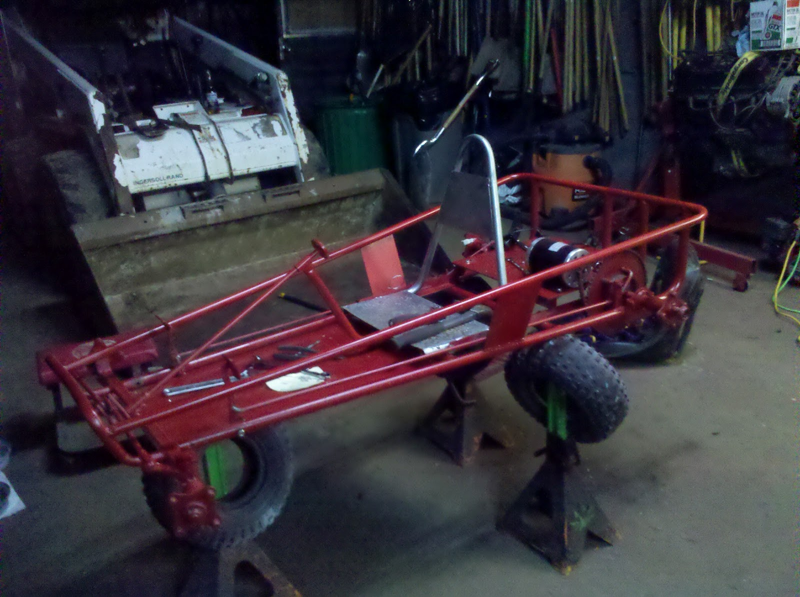 Electric Go Kart: Parts and Build Out, Discussion of Motor ...