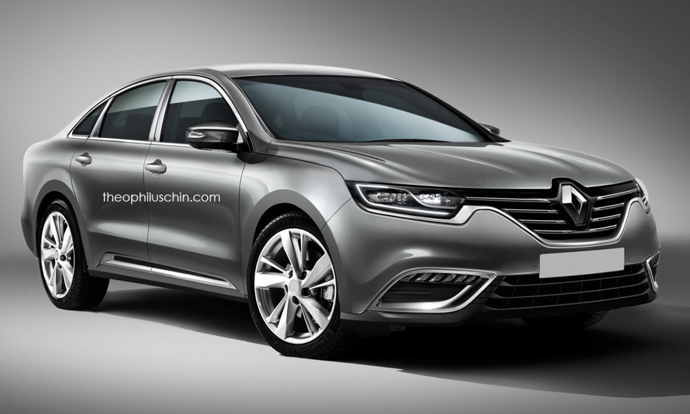 could renault 39 s new 2016 laguna look like this carscoops. Black Bedroom Furniture Sets. Home Design Ideas