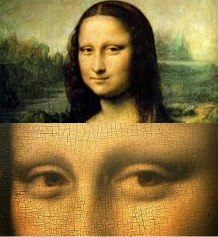 Mona Lisa: A Real Hidden Code in Her Eyes
