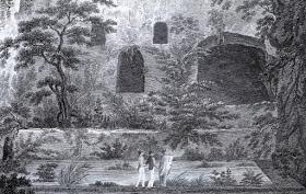 τροφωνιο μαντειο-ξυλογραφια 19ου αιωνα