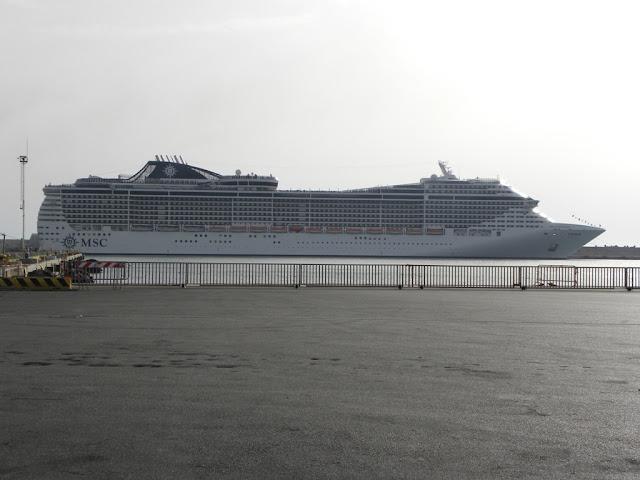 cruise port of Civitavecchia