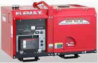 Genset Elemax SH 07D - Genset Elemax Silent Diesel - Jual Genset Elemax 6kw