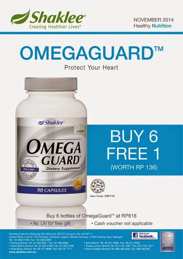 cara makan omegaguard