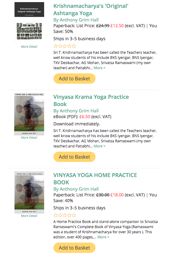 After ashtanga vinyasa krama yoga home developing a home available from lulu fandeluxe Gallery
