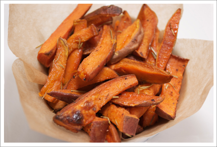 Waffling: Cooking with Casey: Baked Sweet Potato Fries