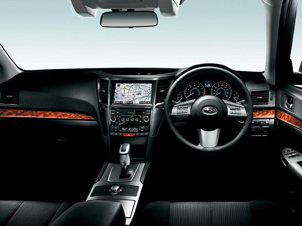 Subaru Legacy V-gen. 2009 BM, BR 日本車 チューニングカー スバル japoński samochód sedan boxer tuning zdjęcia wnętrze interior