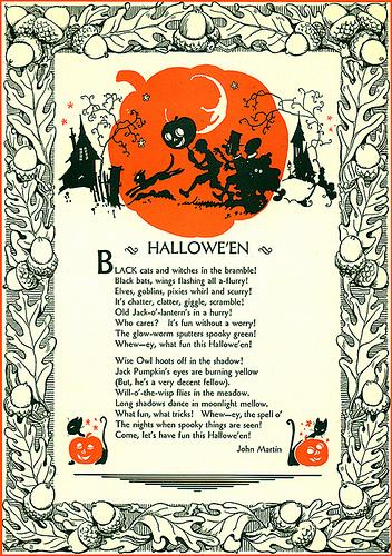 hallows eve poem