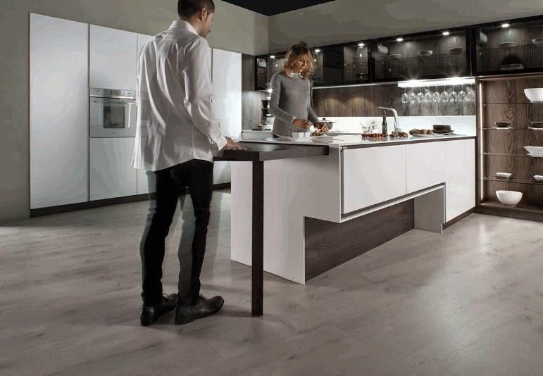 12 ideas para hacer más cómodo el trabajo en la cocina   cocinas ...