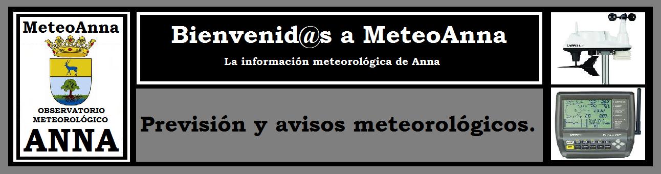 MeteoAnna-Previsión Meteorológica.