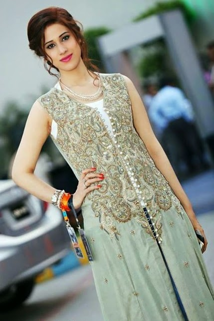 Jeem Luxury Pret Eid Dress 2014