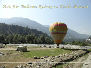 Hot Air Ballon Riding in Kullu Manali