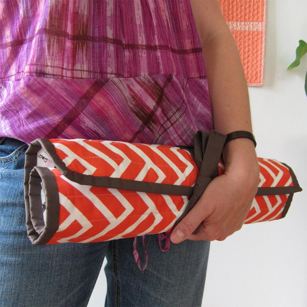 GeoCentric Week :: Knitting Needle Case - Cloud9 Fabrics
