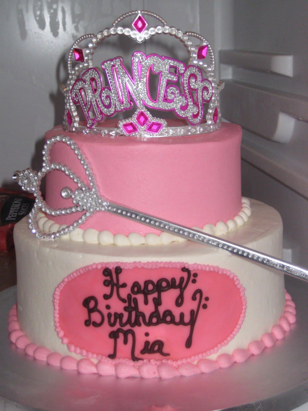 The Federici's: Mia's Birthday Cake!