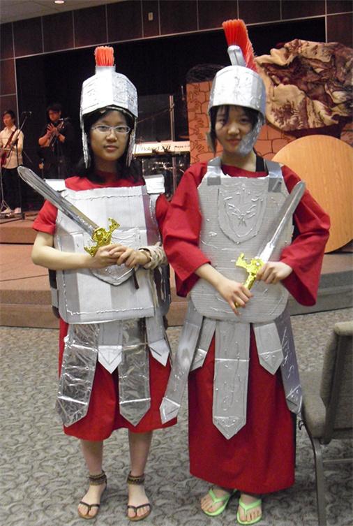 roman dress up cardboard cut out