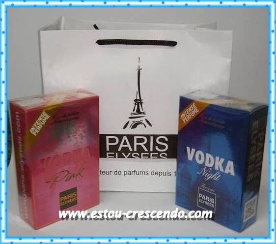 Resenha perfumes recebido da Paris Elysees
