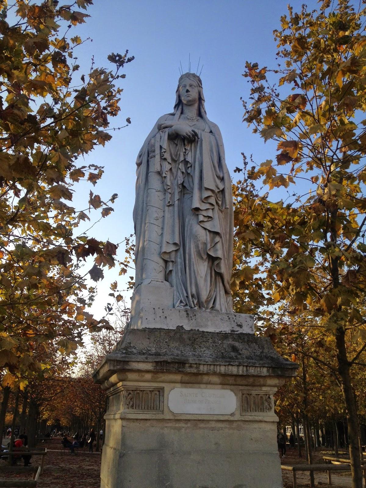 Statue of St. Clothilde, Jardin du Luxembourg, Paris