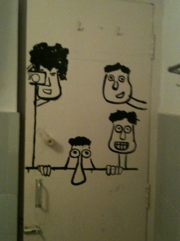 Cartoon Bathroom Door Cartoon Bathroom Door