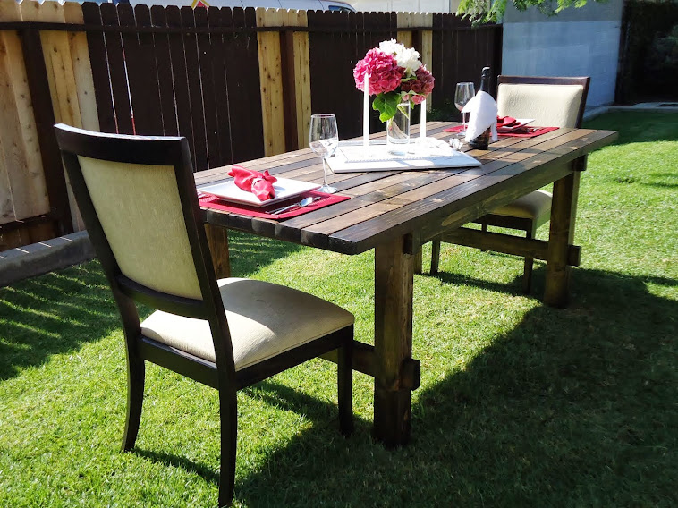 Outdoor Dining Table - SOLD