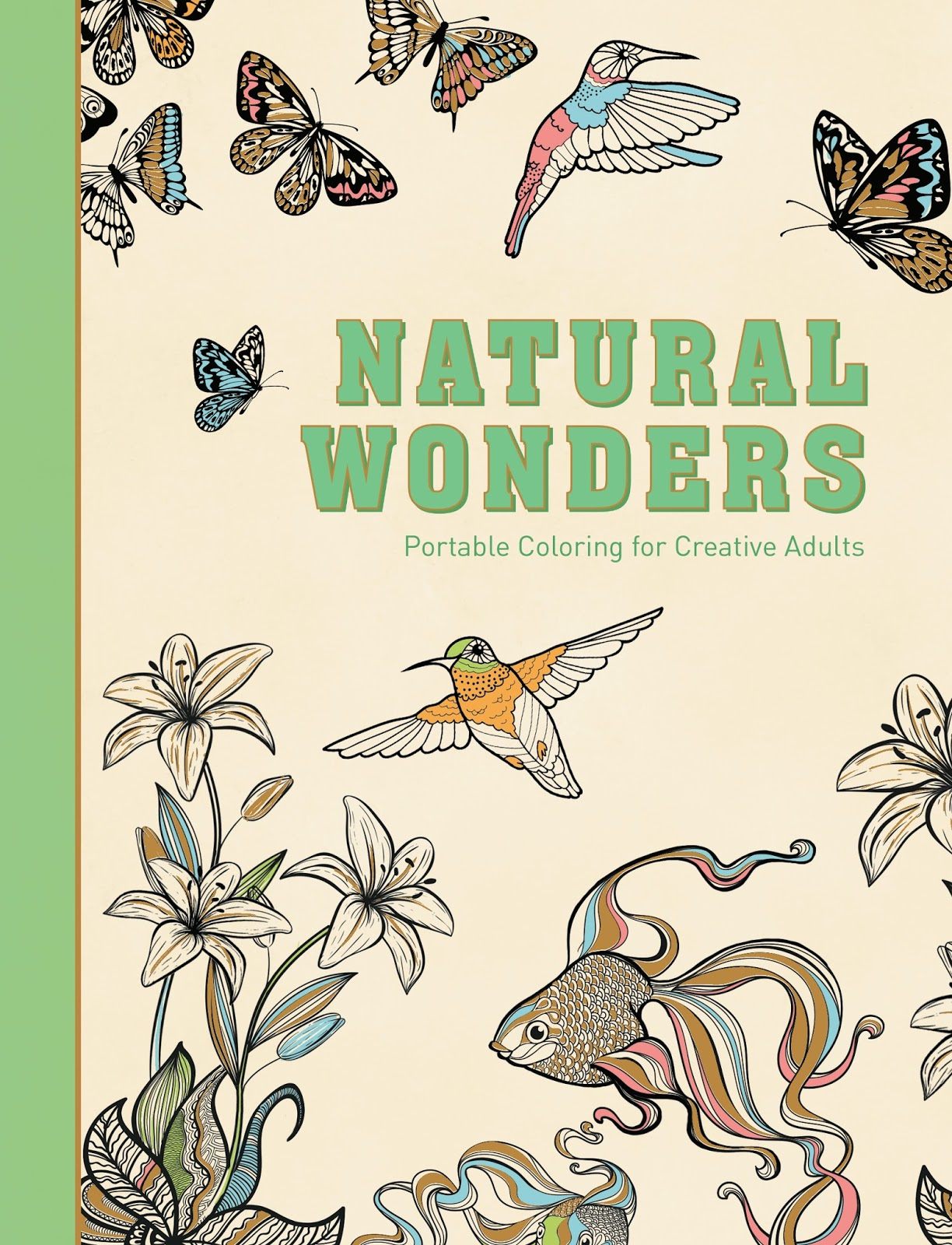 book review natural wonders and flying wonders coloring book series - How To Publish A Coloring Book